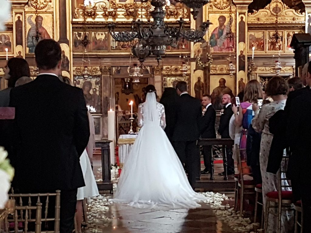 Destination weddings - venice, italy, orthodox ceremonoy