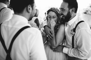 Bridesmaid Rules - flirting with the groomsmen