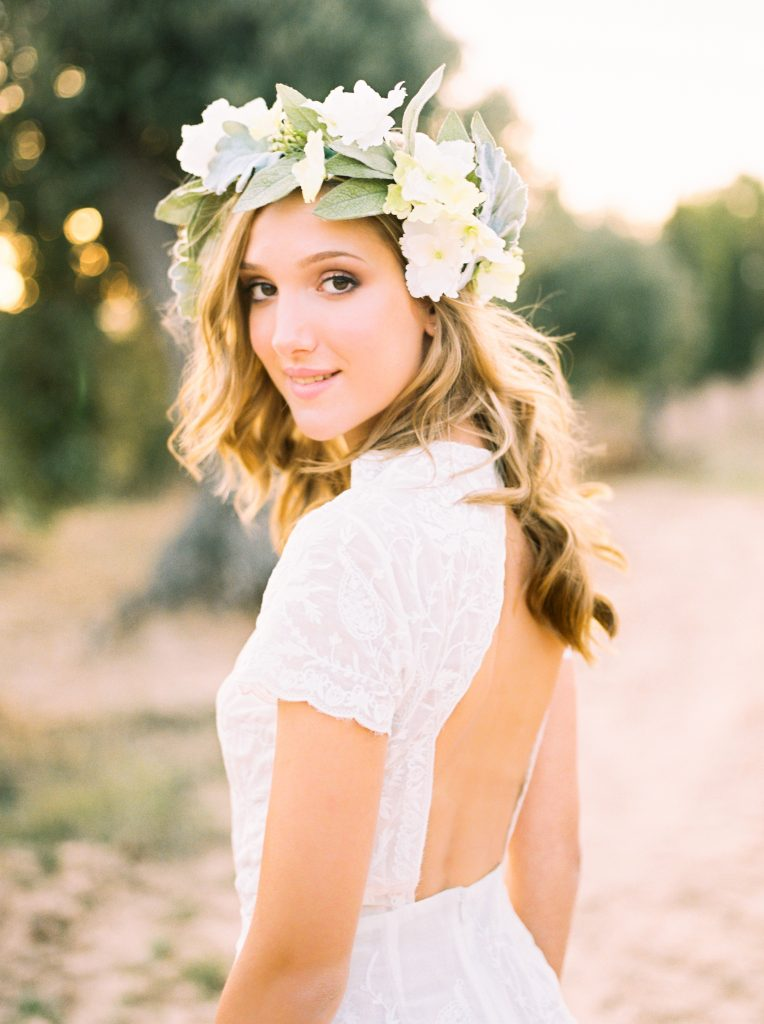 Wedding accessories - Floral hairpiece_Luellas Collection
