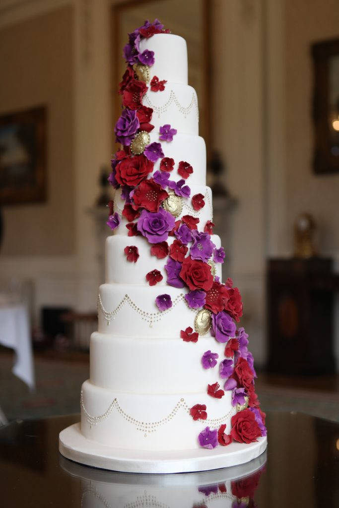 Wedding Cake - La Belle Cake Company £POA Asian Wedding Cakes
