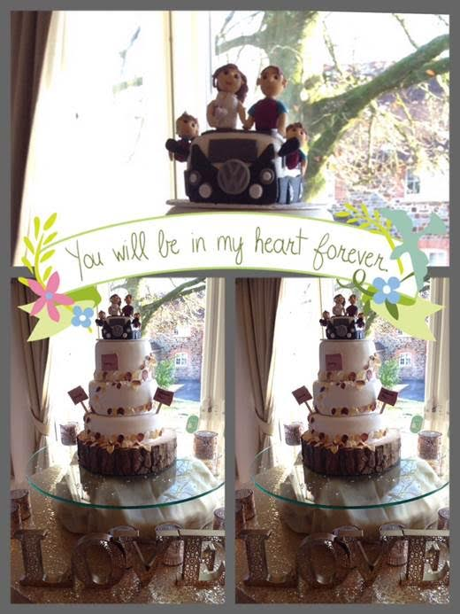 Wedding Cake - mumsbakecakes - Lisa Tarr