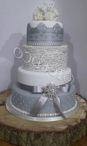 Wedding Cake - mumsbakecakes - Samantha Revell-Wright