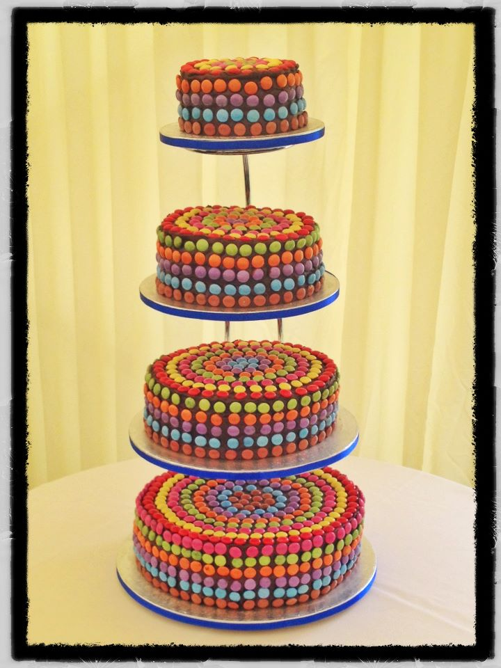 Wedding Cake - smarty tiered