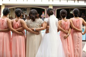 who pays for the bridesmaids outfits