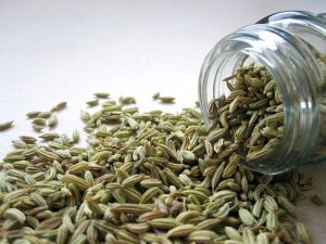 Avoid bloating for your wedding day - fennel seeds