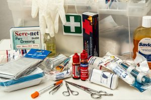 Emergency wedding kit - first aid